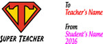 Teacher Thank You Mug - Super Teacher