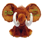 Dumble Elephant Woolly Mammoth Message Bear