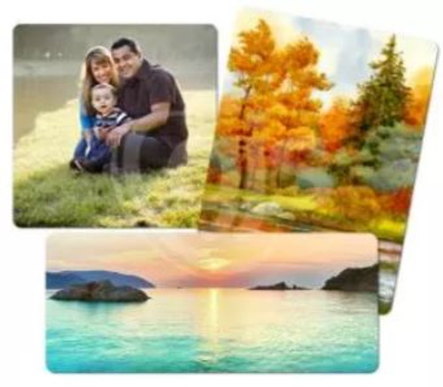 Personalised Metal Photo Panel - White Matte