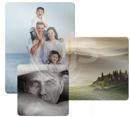 Personalised Metal Photo Panel - Clear Gloss