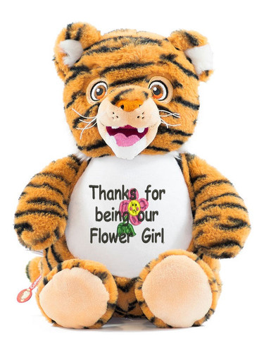 Personalised Cubby – Signature Tiger message