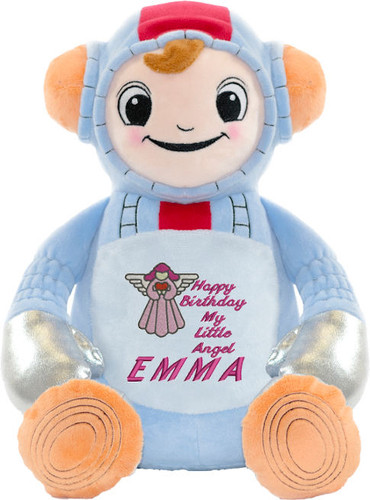 Personalised Message Bear - Spaceman Cubby