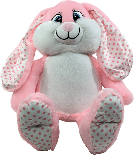 Personalised  Bebi Beau Pink Message Bunny