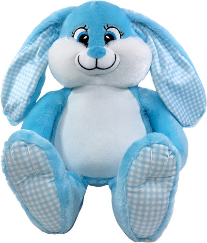 Personalised Blue Bebi Beau Bunny Birth Designs
