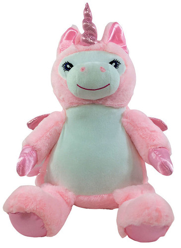 Christening Bebi Beau Pink Unicorn designs