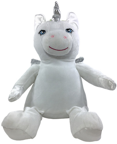Personalised Remembrance White Unicorn Bebi Beau