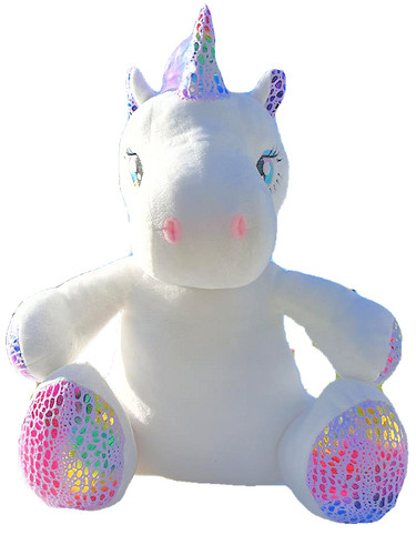 gift Personalised Kijawii Rainbow Unicorn message