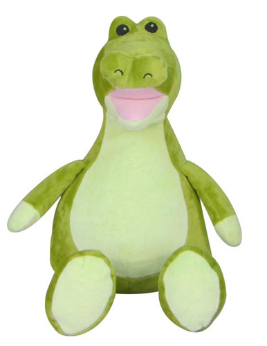 Personalised Hug-Me Cubby - Crocodile (Birth Design)