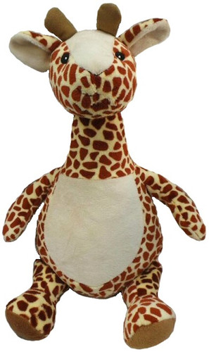 Personalised Hug-Me Cubby - Long Neck Giraffe (Birth Design)