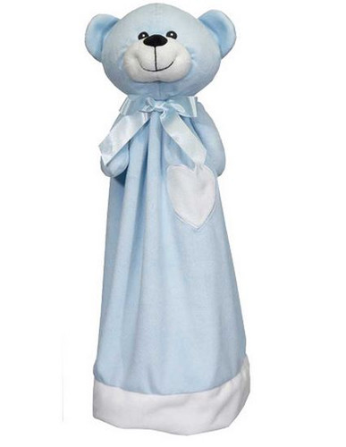 Personalised Embroider Buddy Blankie - Blue Bear