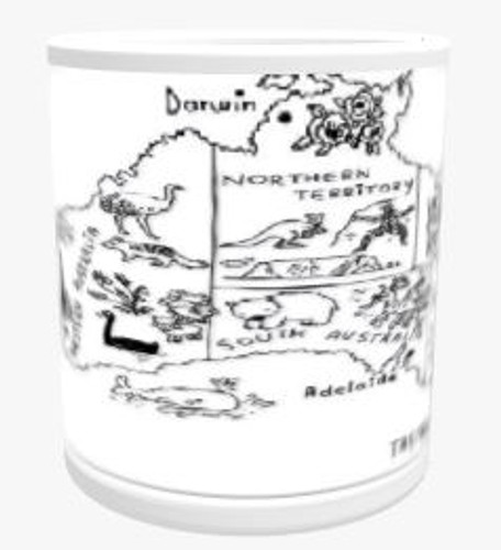 Personalised Mug - Places Themed Background
