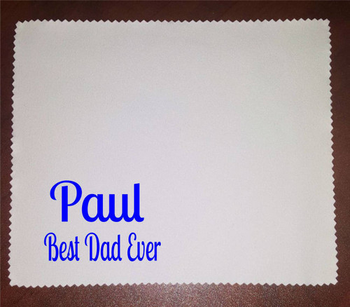Personalised Glasses Cleaning Cloth
