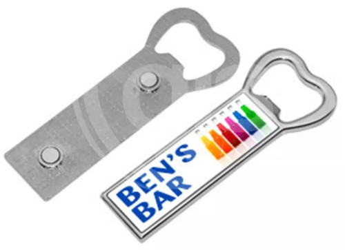 Personalised Bottle Opener Fridge Magnet