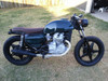 1978 - 1981 Honda CX500 Deluxe Standard CX400 Classic with modified seat pan and end bar #4199