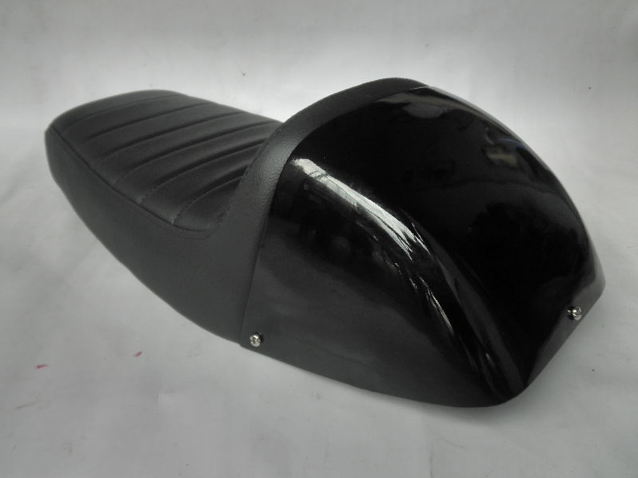 1972 - 1976 Honda CB750 K2 to K6 Cafe Racer Motorcycle Seat with Metal Cowl #2720