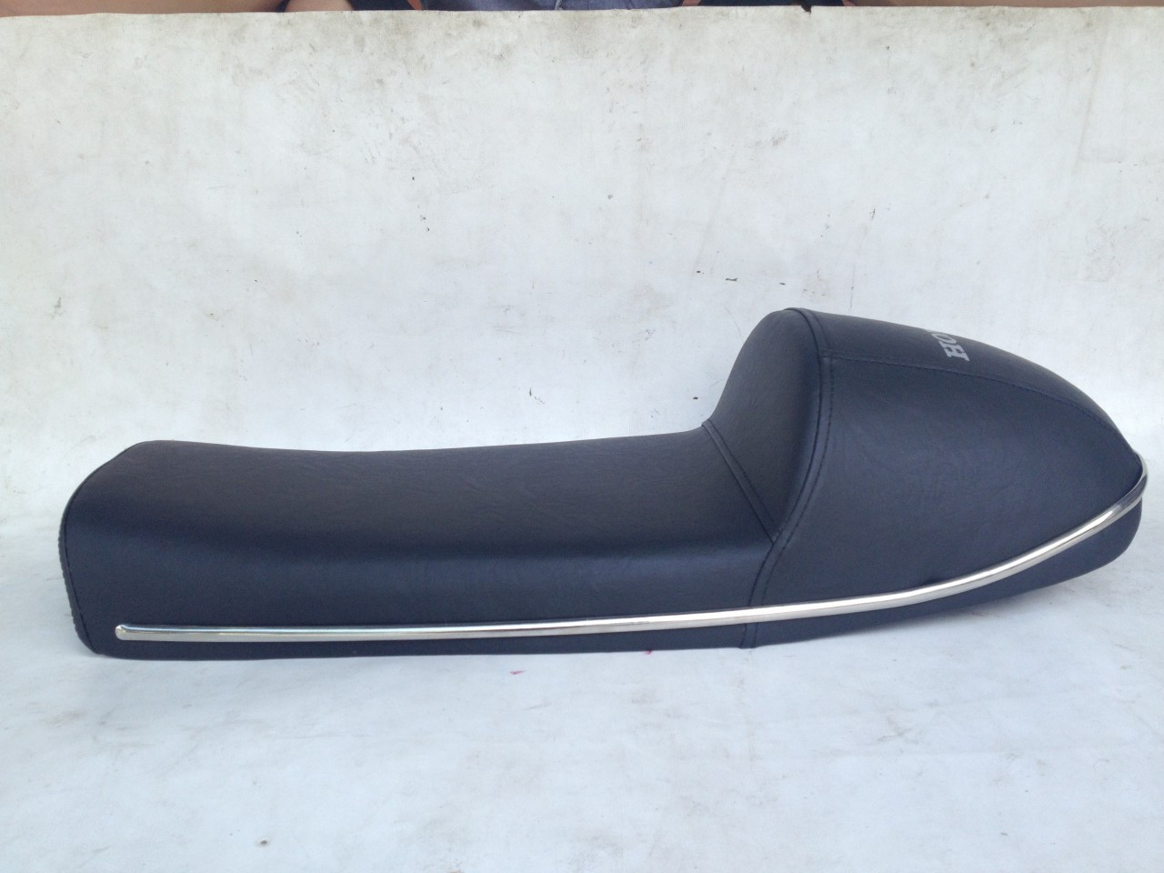 1969, 1970, 1971 Honda CB750 K0 and K1 complete cafe racer seat with chrome bars #4033