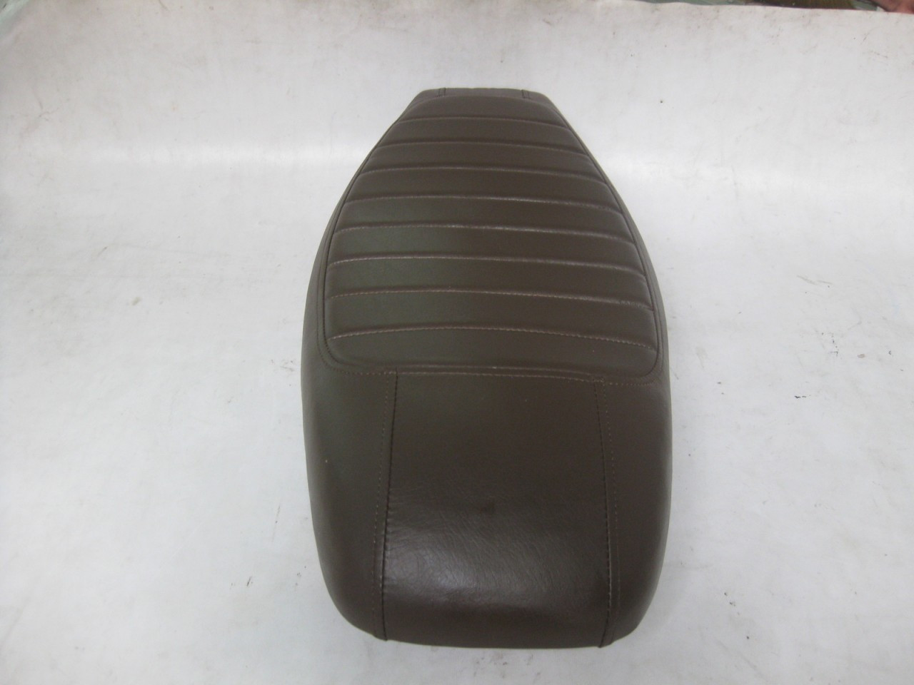 1979 - 1982 Honda CX500 Custom cafe racer complete seat with metal seat pan #4074