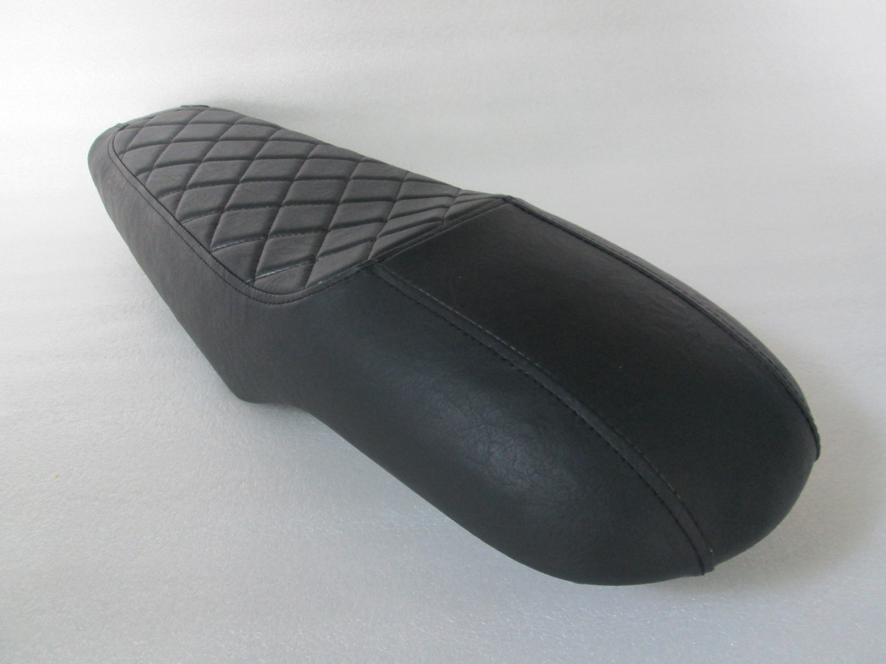 1978 - 1981 Honda CX500 Deluxe Standard or CX400 Classic , diamond pattern cover, with modified seat pan #4155
