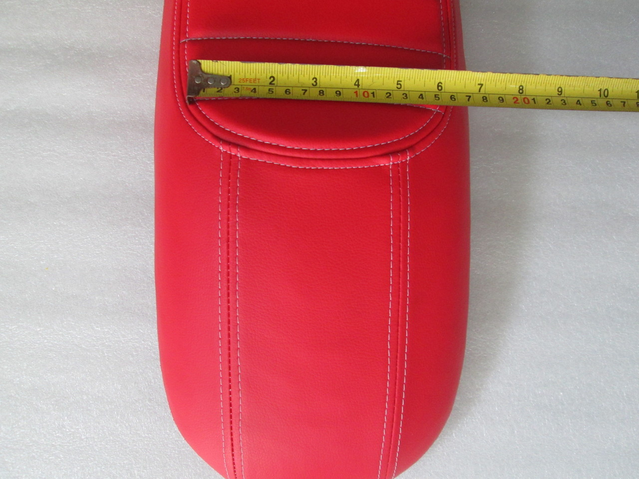 1978 - 1981 Honda CX500 Deluxe Standard or CX400 Classic Cafe Racer Seat with modified seat pan *RED* #4156