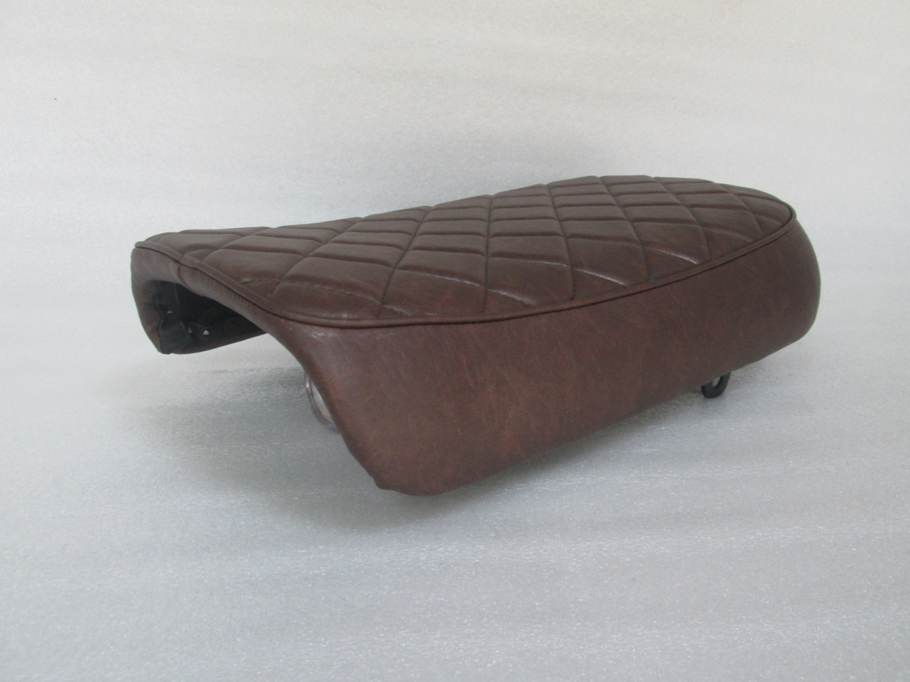 1981 Honda GL500 Cafe Racer Seat with Modified Seat Pan #4217
