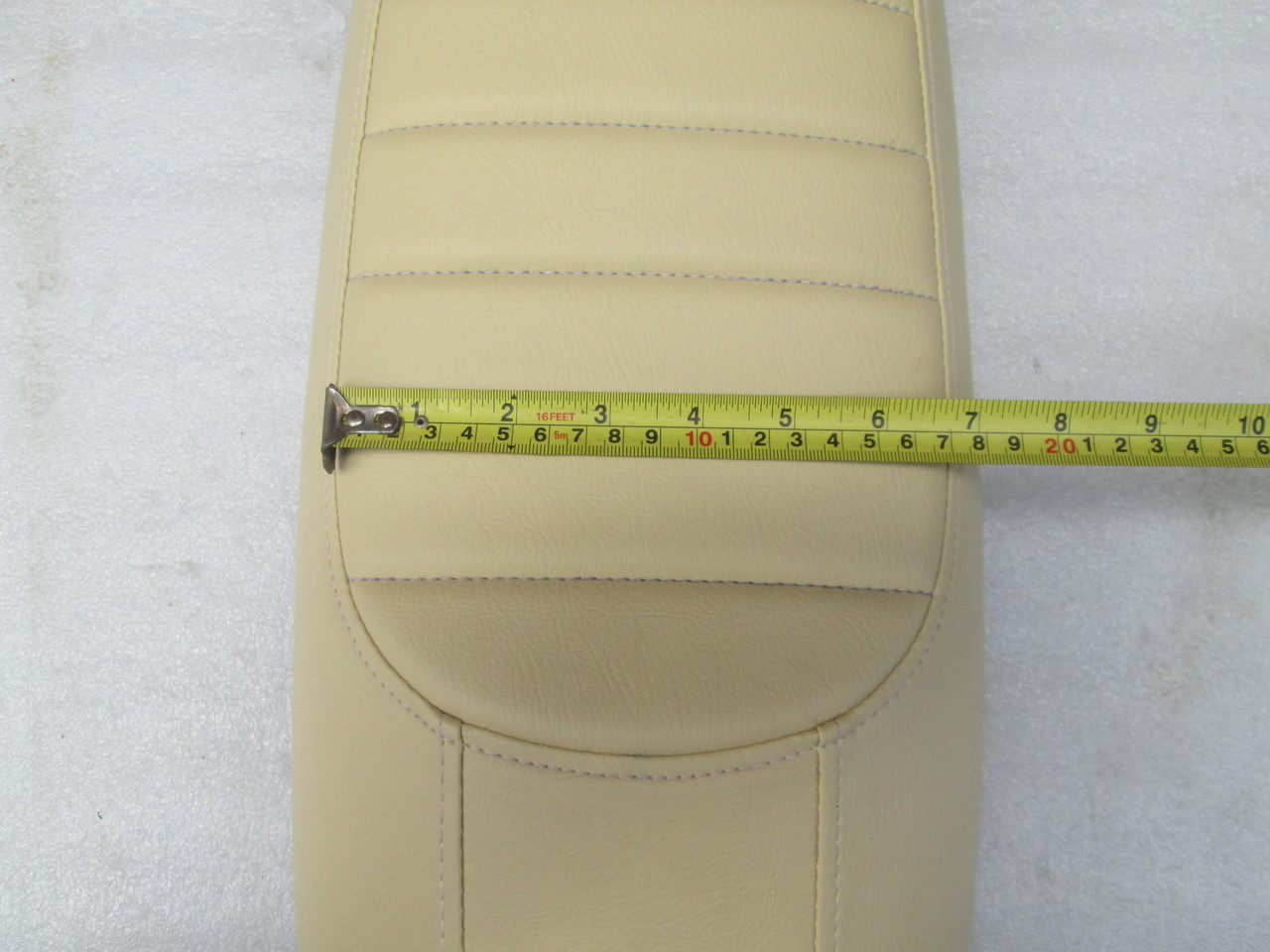 1978 - 1982 Honda CX500 Deluxe Standard / Shadow or CX400 Cafe Racer Seat with modified motorcycle seat pan #4237