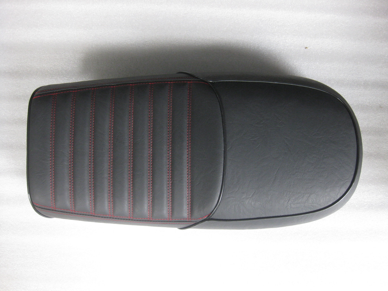 1981 Honda GL500 Cafe Racer Seat with Modified Seat Pan #4247