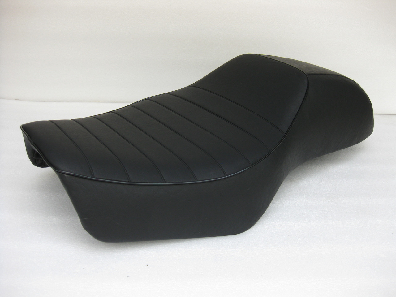Honda GL1200 Goldwing Cafe Racer Complete Motorcycle Seat with metal seat pan #4319