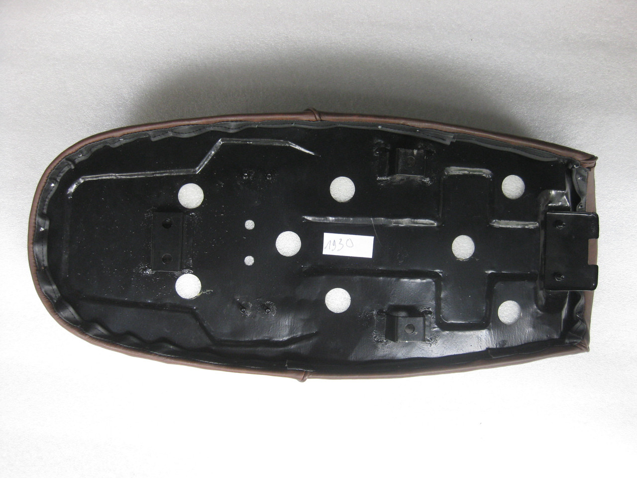 1981 - 1984 Honda CB450 CB450T, CB450 Twin Cafe Racer Motorcycle Seat with Metal Pan #4364