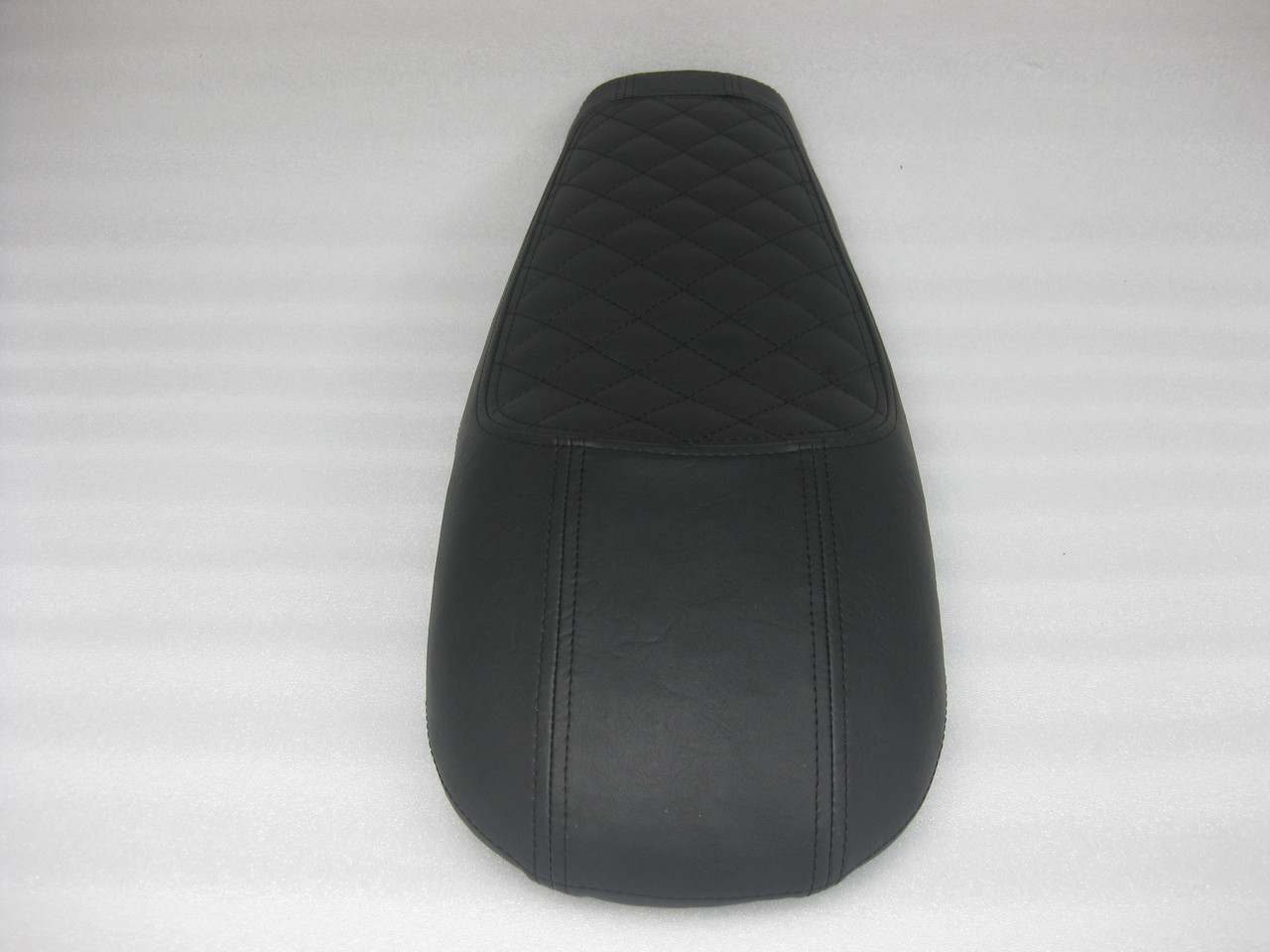 1979 - 1982 Honda CX500 Custom cafe racer complete seat with metal seat pan - #4377
