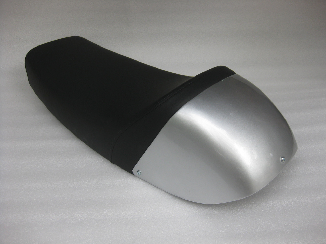 Honda CB400F CB400 cafe racer custom seat modify metal pan and metal cowl #4300
