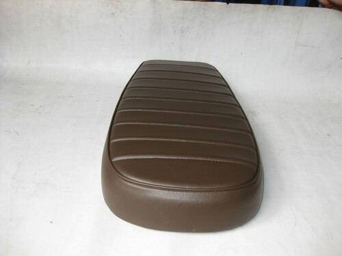 Honda CX500 Standard Deluxe / Shadow CX 500 Cafe seat modified seat pan to 23 inches long - dark brown #4081