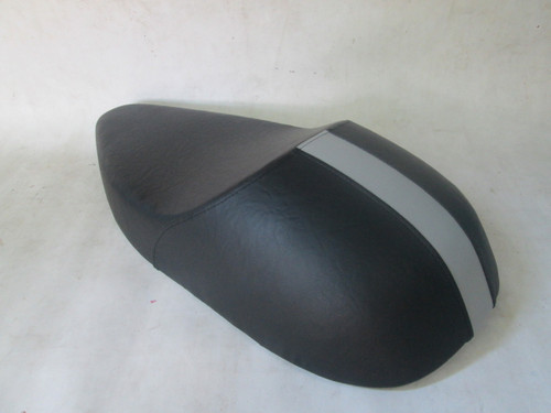 BSA 650 Lightning cafe racer seat with metal motorcycle seat pan #4129