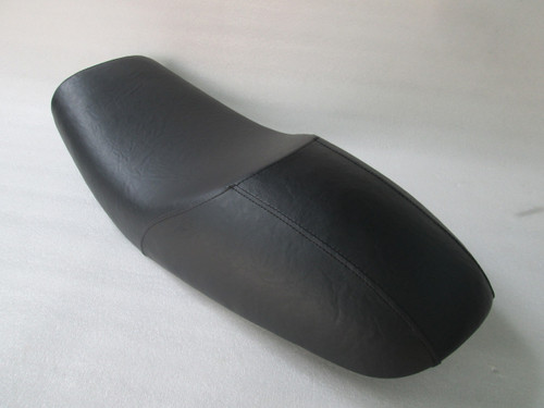 1977 - 1978 Kawasaki KZ650 Cafe Racer Motorcycle Seat (extended 10cm length) with Metal Pan #4165