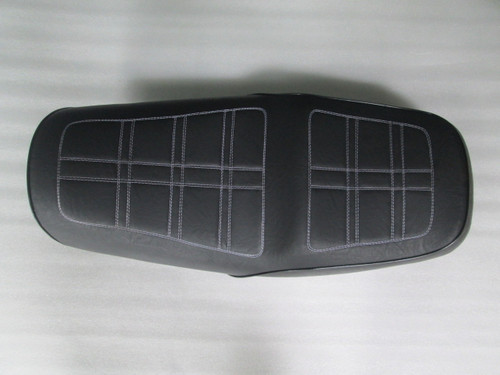 1979 - 1982 Honda CB750KZ complete seat with powder coated metal seat pan #4226