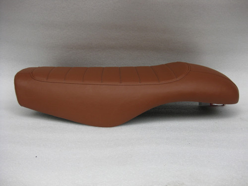 1979 - 1982 Honda CX500 Custom Cafe Racer Complete Motorcycle Seat with metal seat pan  #4297