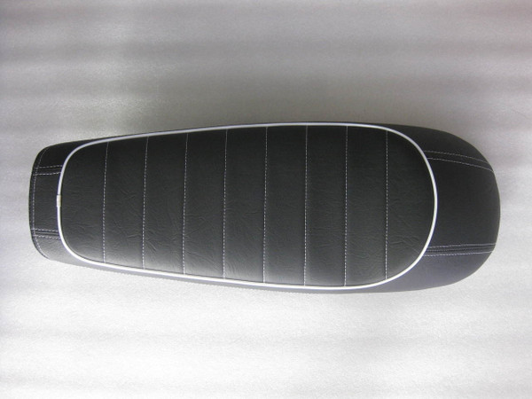 1978 - 1982 Honda CX500 Deluxe Standard / Shadow or CX400 Classic seat with modified motorcycle seat pan #4408