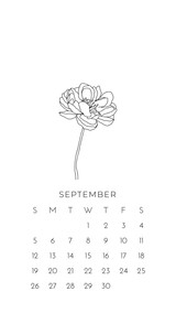 September 2021 Wallpapers by Paper Sushi