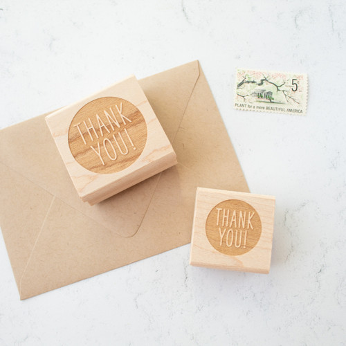 Thank you stamp by Paper Sushi