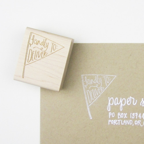 Kindly Deliver to Stamp by Paper Sushi