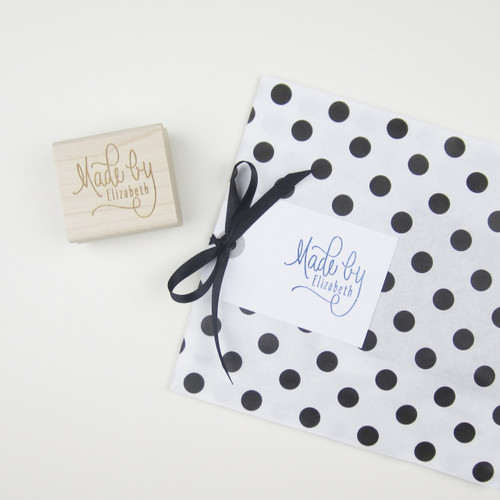 Made by You rubber stamp by Paper Sushi
