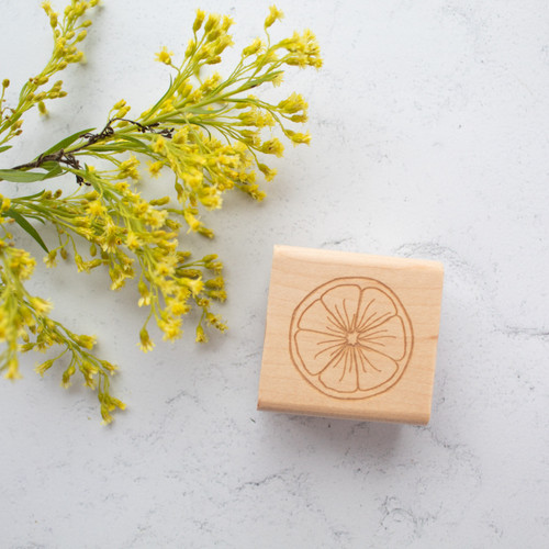 Citrus stamp by Paper Sushi
