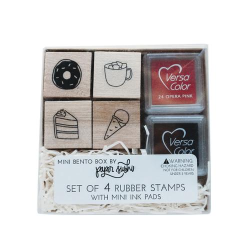 Dessert mini stamp set by Paper Sushi