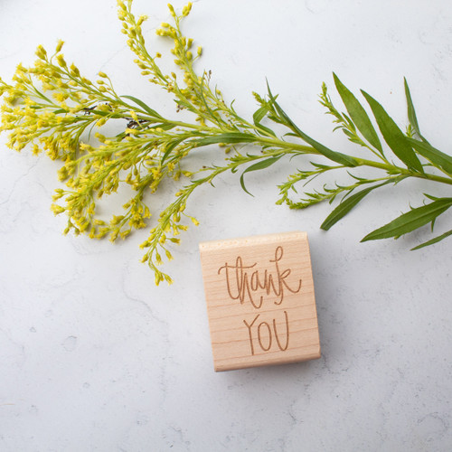 Thank you rubber stamp by Paper Sushi