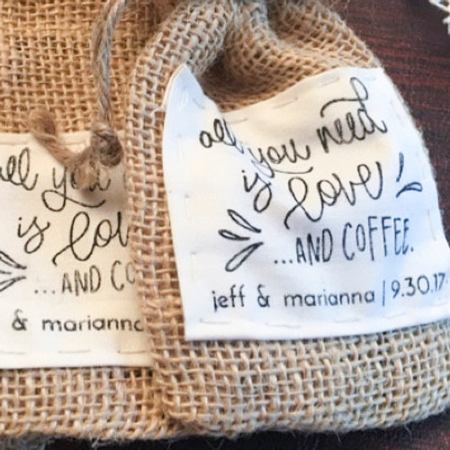 All You Need is Love and Coffee Stamp by Paper Sushi