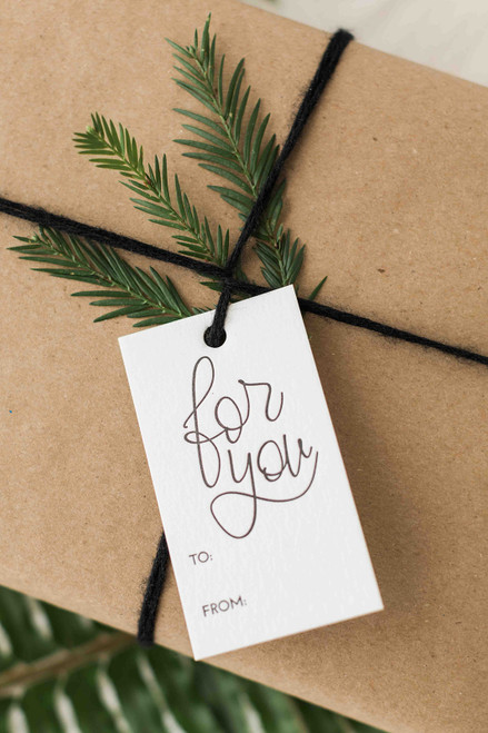Letterpress gift tags by Paper Sushi #letterpress #gifttags