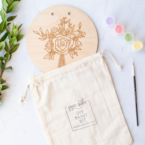 Bouquet DIY Painting Kit by Paper Sushi