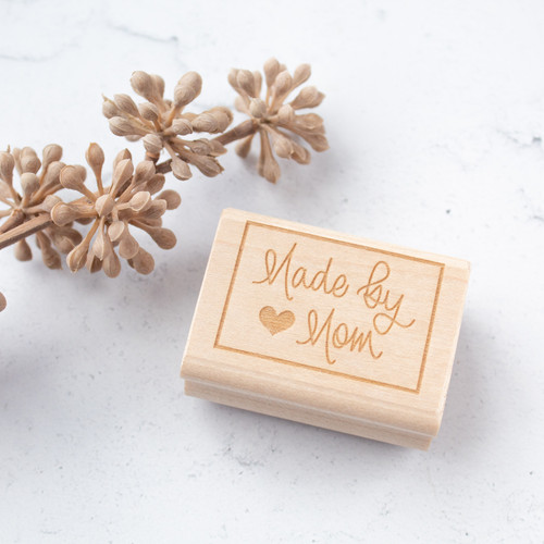 Made by Mom rubber stamp by Paper Sushi