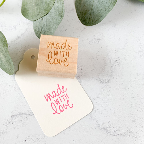 Made with Love mini stamp