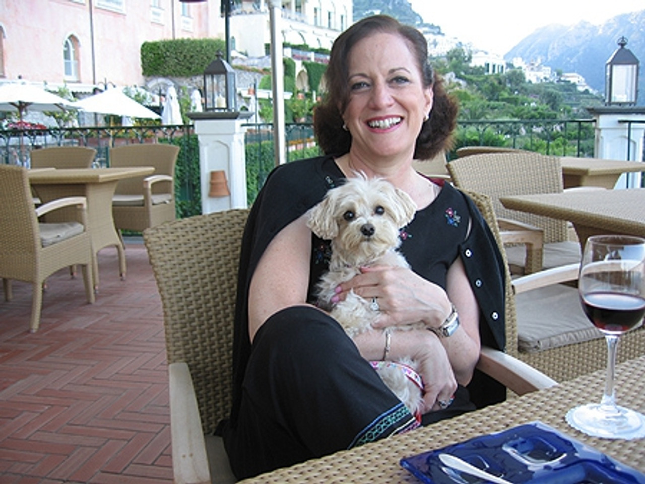 Mitzi's Maddie in Italy (2nd Prize)