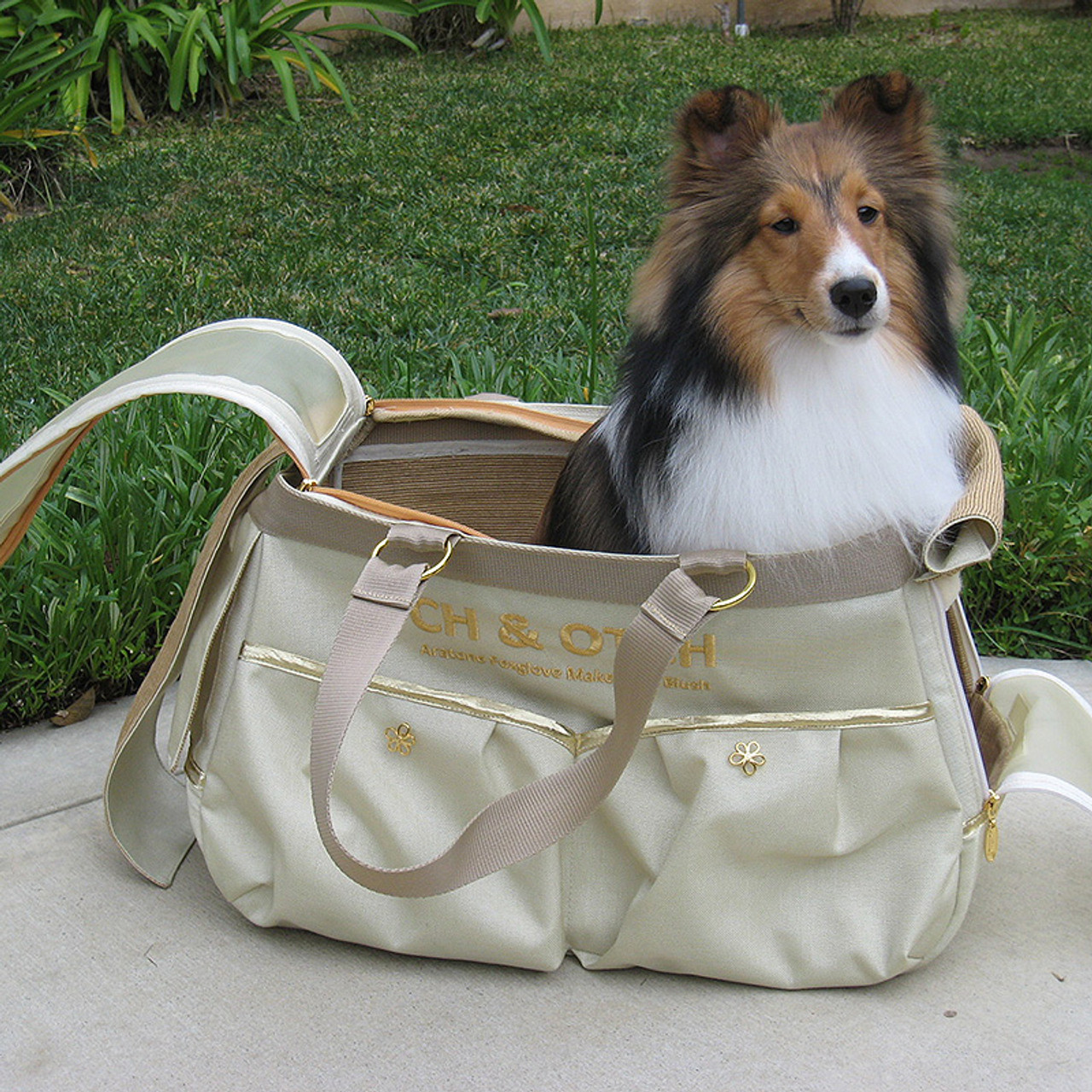 Sheltie Travel Makeup Bag